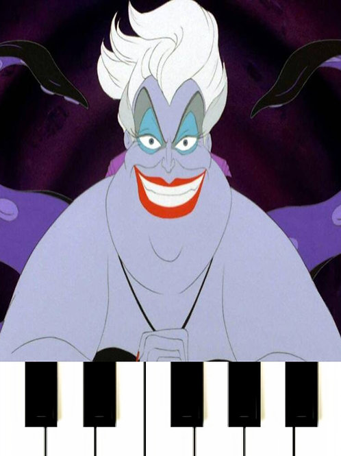 Poor Unfortunate Souls - The Little Mermaid Sheet Music