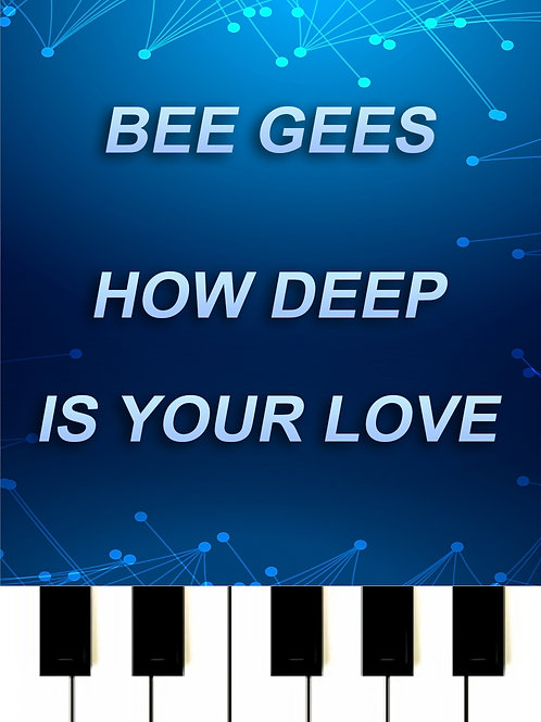 Bee Gees - How Deep Is Your Love MIDI