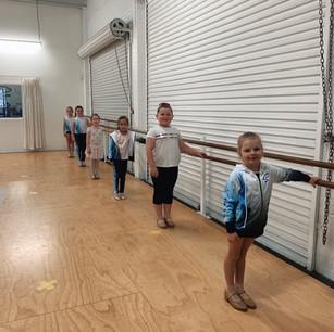 Step Right Dance class work