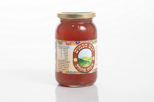 צנצנת 500 גרם - פרחי בר, אבוקדו