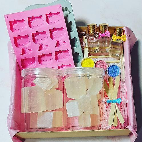 גל סבון מהטבע - ערכה להכנת סבונים עם הילדים