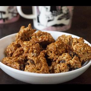 עוגיות גרנולה (טבעוני)