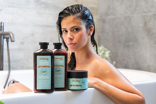 BOTANY - מארז מוצרים לשיער לאחר החלקה/צביעה
