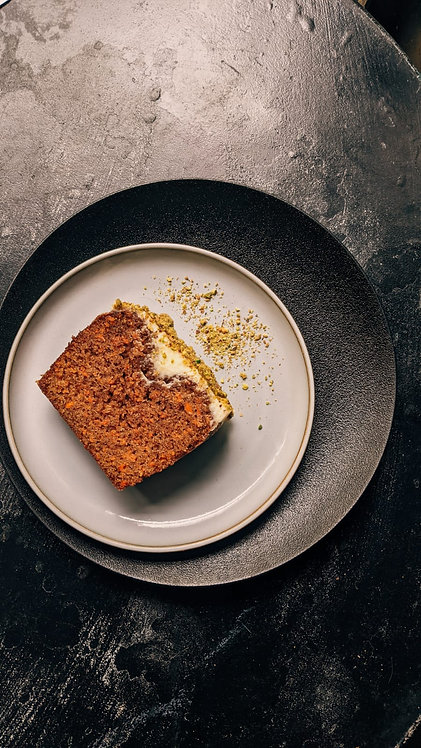 עוגת גזר עם קרם שמנת