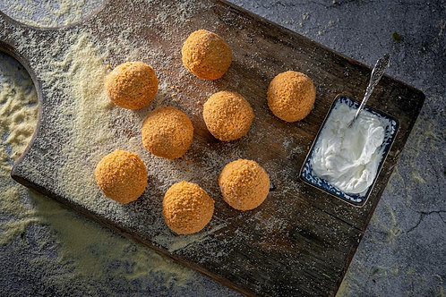 כדורי ארנציני עבודת יד - מארז 400 גרם