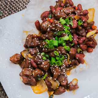 Beef Bites with Kidney Beans