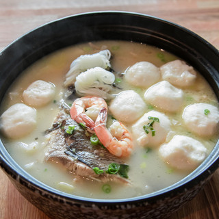 Fish Head Soup with Eight Treasures