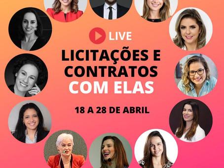 LIVE NO INSTAGRAM @LICITACOESMUNICIPAIS COM PARTICIPAÇÃO DA SÓCIA CRISTIANA FORTINI