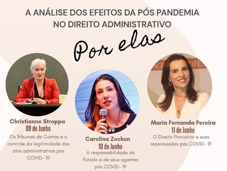 LIVE DA SÓCIA MARIA FERNANDA NO INSTAGRAM DO INSTITUTO AMAZONENSE DE DIREITO ADMINISTRATIVO