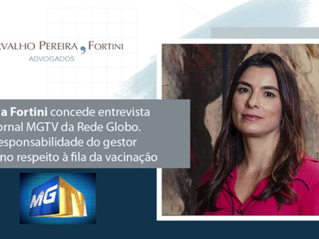 Cristiana Fortini concede entrevista ao jornal MGTV