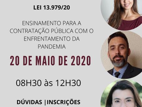 Curso Lei 13.979/20 - Os ensinamentos para a contratação pública com o enfrentamento da pandemia