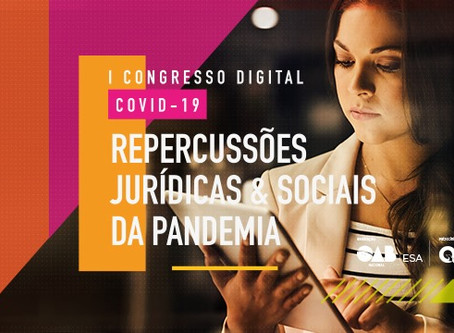 CRISTIANA FORTINI PARTICIPA DO MAIOR EVENTO JURÍDICO ONLINE DO MUNDO