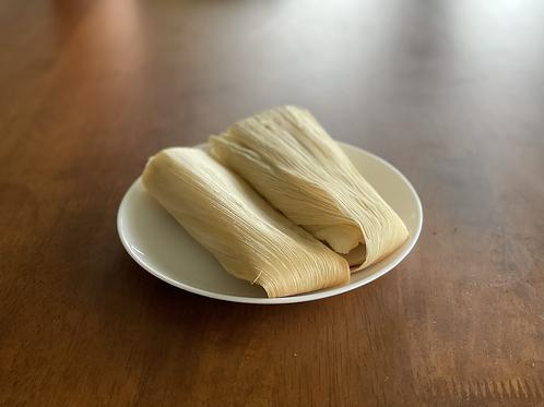 "Vegan/GF 2x ""Beef"" Tamales with Spanish Rice & Beans"