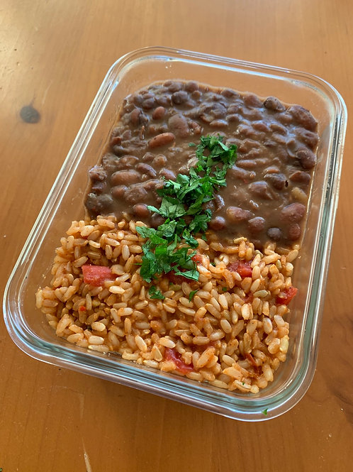 Vegan/GF Spanish Rice & Beans (1.5lbs!)