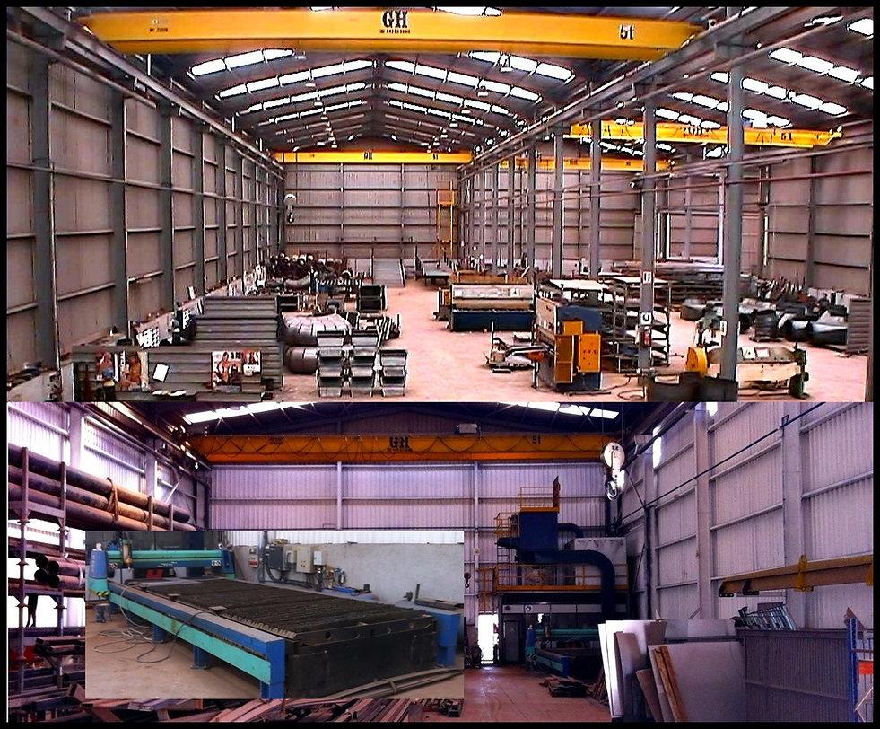 Taller de producción de Ingeniería Moliner