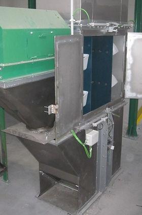 Base elevador de cangilones inox