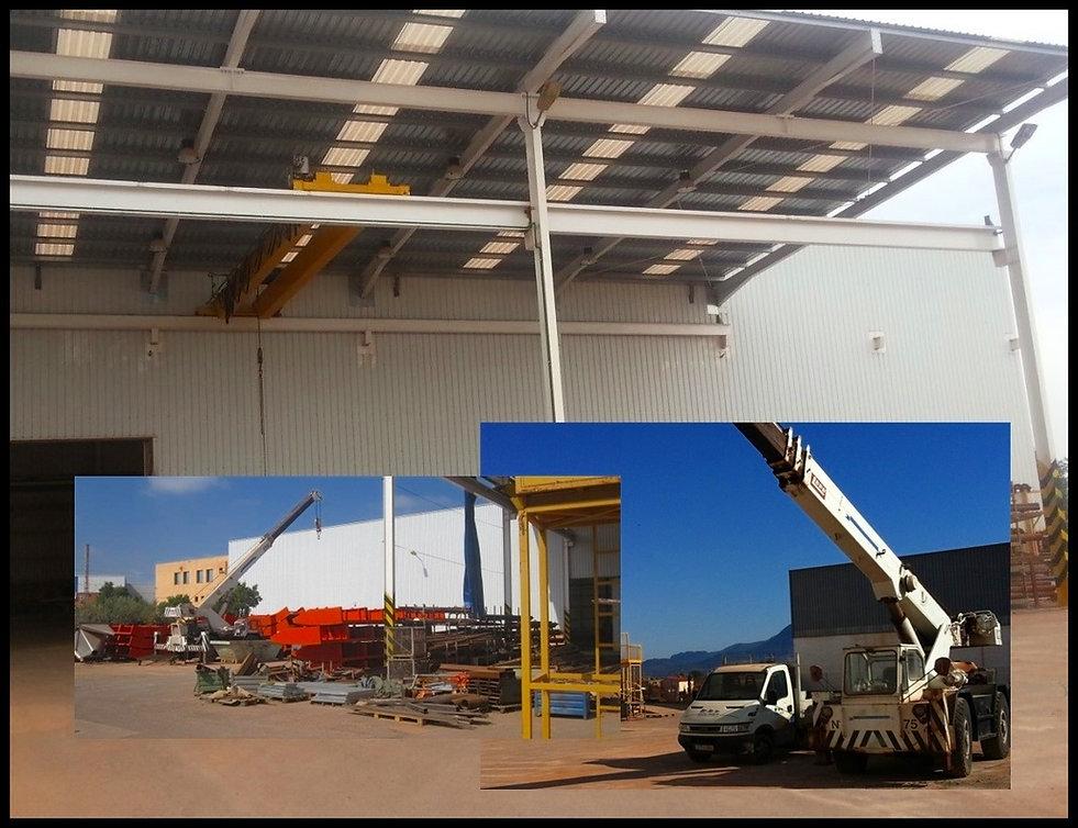Taller de producción exterir de Ingeniería Moliner