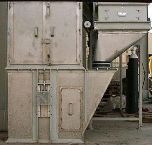 Base elevador de cangilones