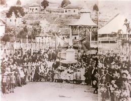 Comemoração do 1º aniversário de emancip