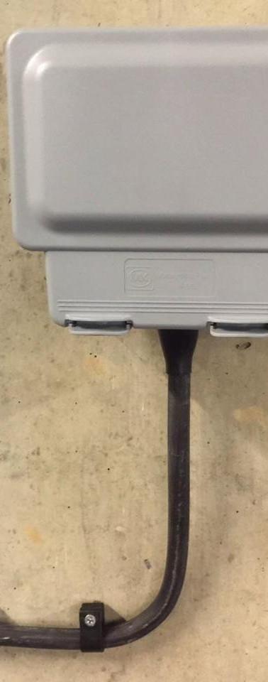 Electrician Scotland Exterior Socket