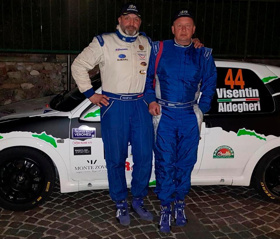 Cristian Aldegheri e Giuseppe Visentin   4° e 5° classificato TRV 2019