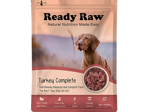 Ready Raw Turkey Complete (200g)