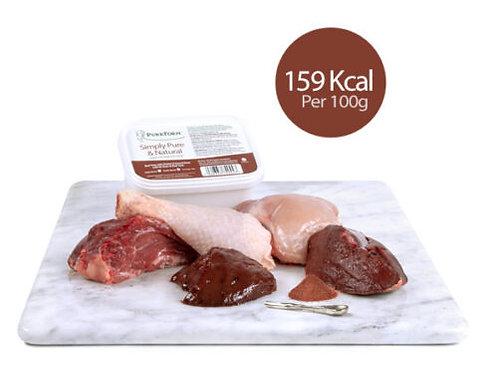 Beef Trim & Chicken, Ground Bone With Ox Heart & Beef Liver (Kitten)