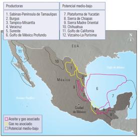 Geología Petrolera Mexicana: Cuenca de Sabinas