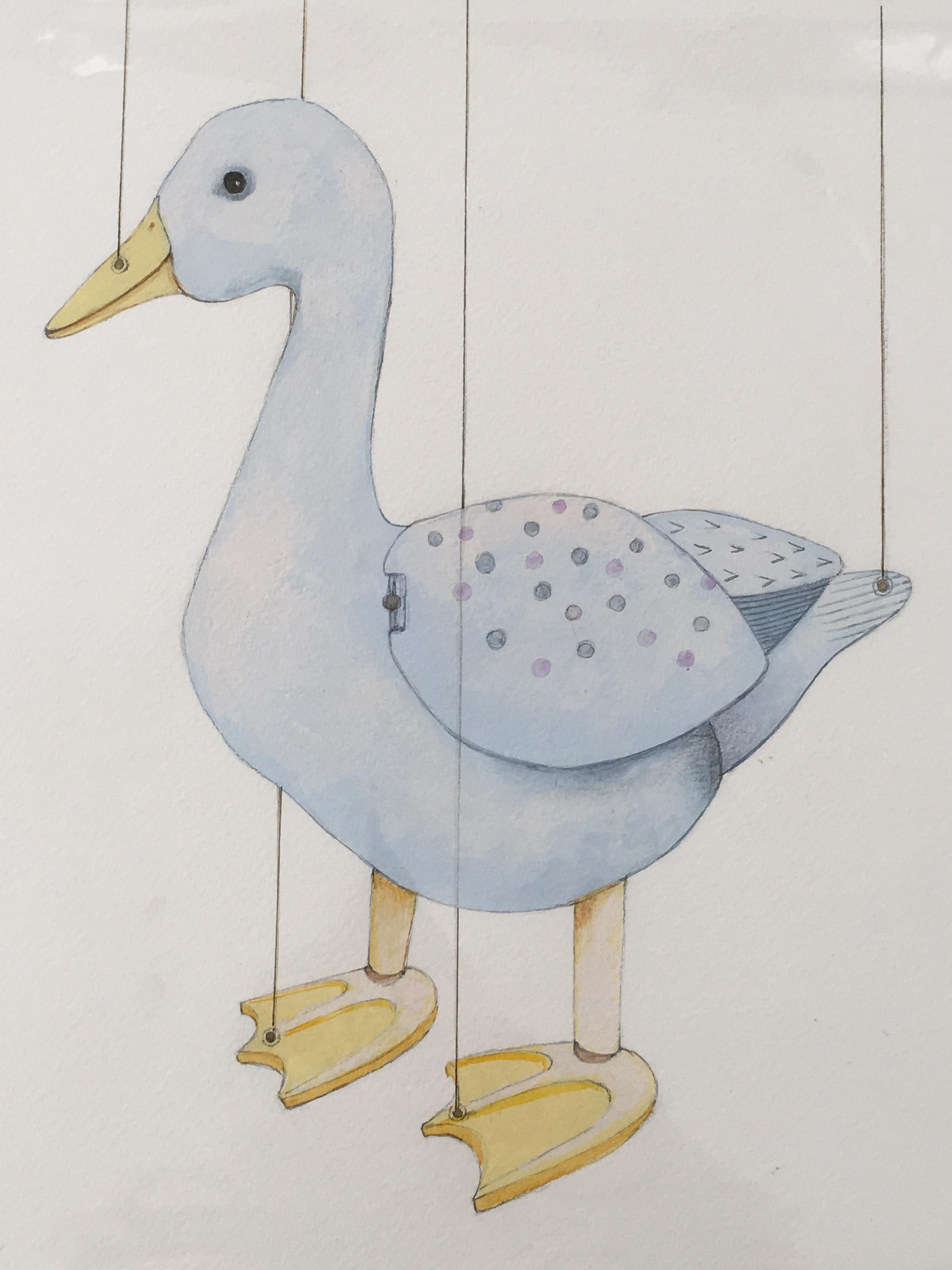 Puppet Blue Goose