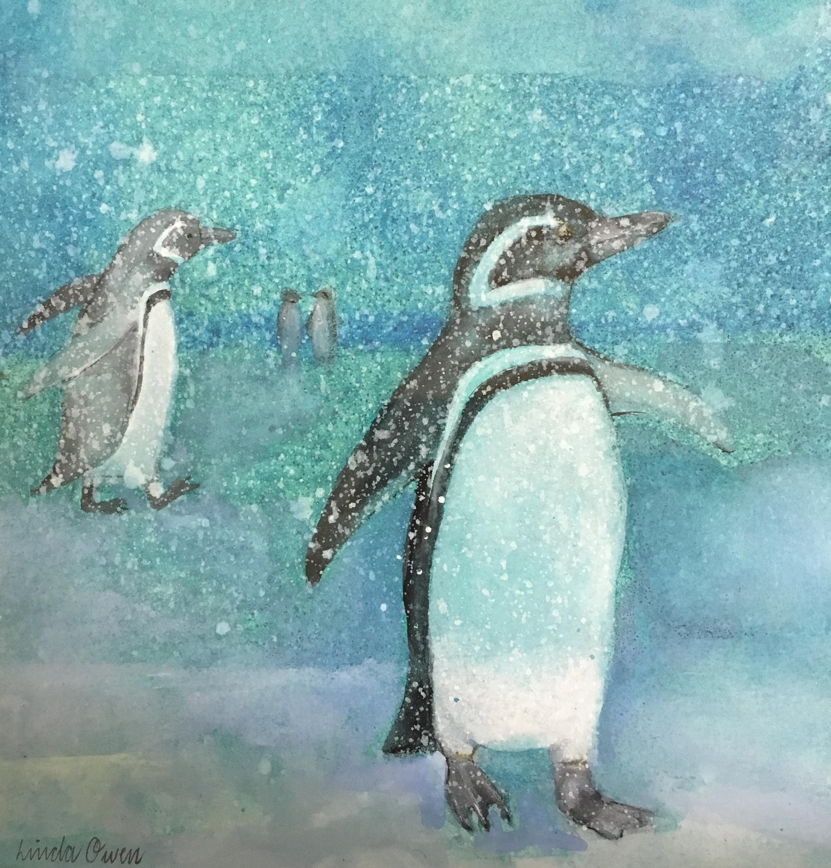 Family of Penguins - Linda Owen