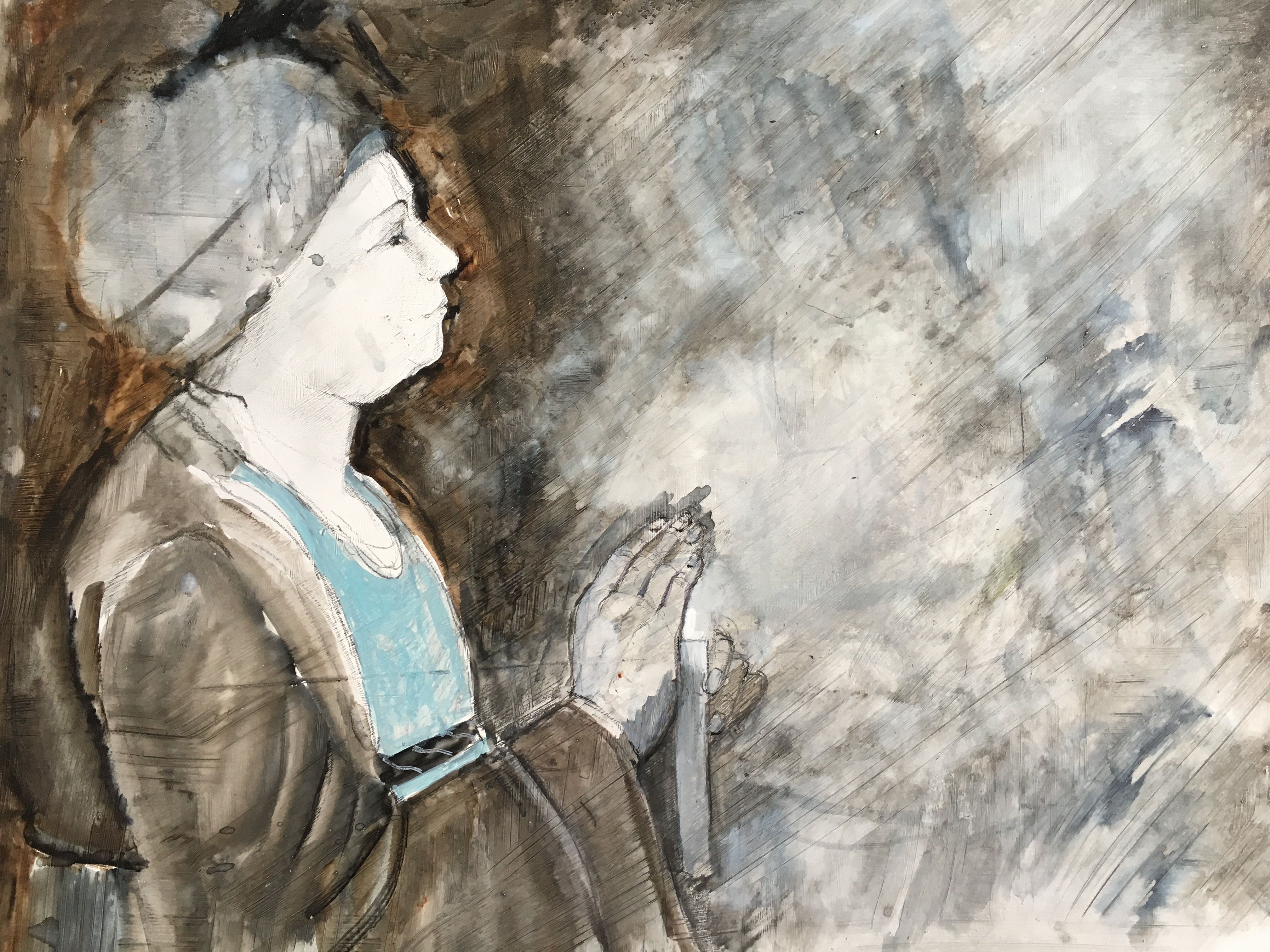 At Prayer (a study)