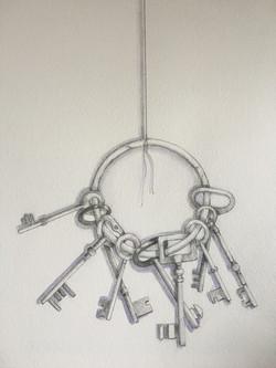 Bunch of Old Keys by Linda Owen