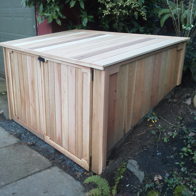 Outdoor storage