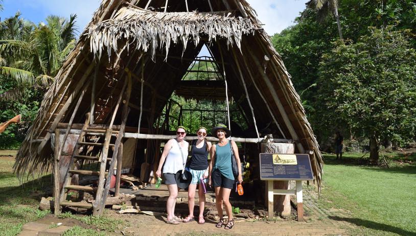 Ancient Chamorro House