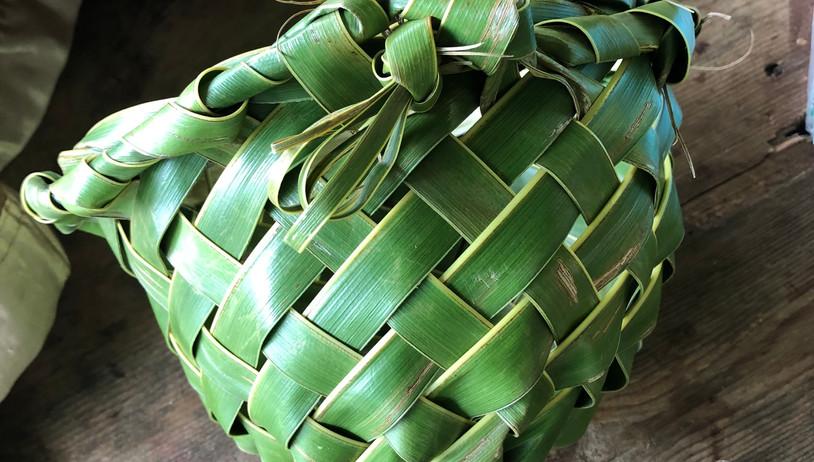 Basket Hand Weaved