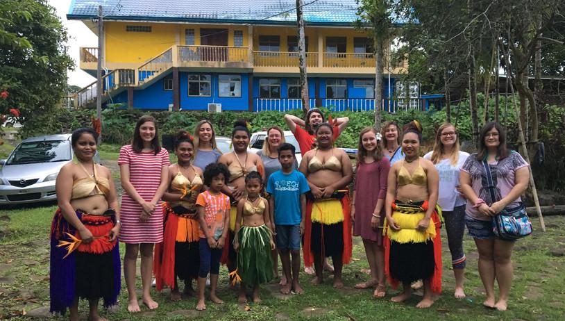 Traditional Palauan Dance