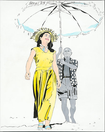 "Carola Paschold - ""Françoise Gilot & Picasso"""