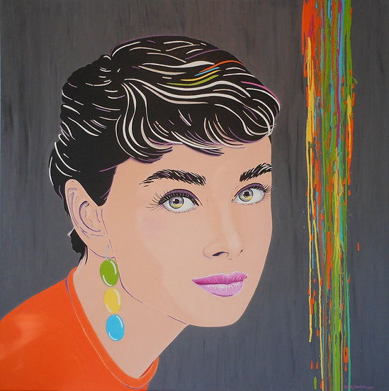 "Carola Paschold - ""Looking Like Audrey"""