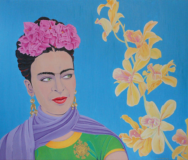 "Carola Paschold - ""Colors Like Frida"""