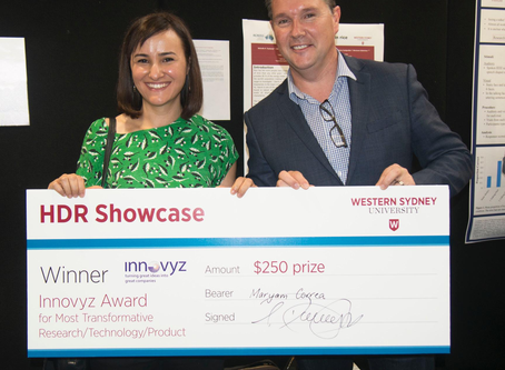 Innovyz proud to support students at Western Sydney University