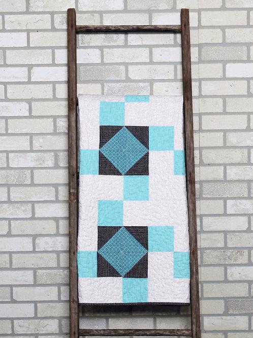Quilt Pattern PDF Modern Baby Quilt Pattern | Crib Size Baby Quilt