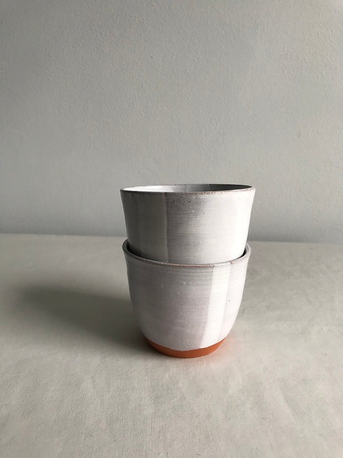 Pair of cups grey