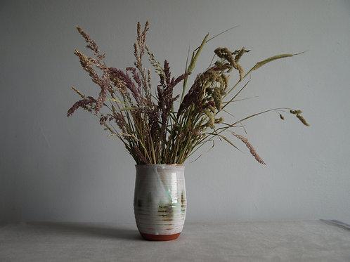 Curved vase