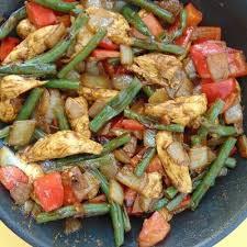 Salteados a base de verduras
