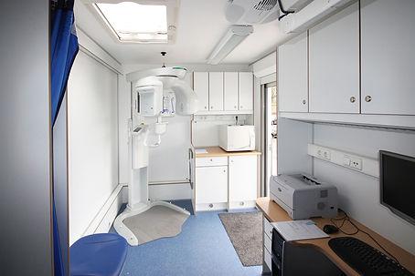 Mobiele service - Röntgenkamer