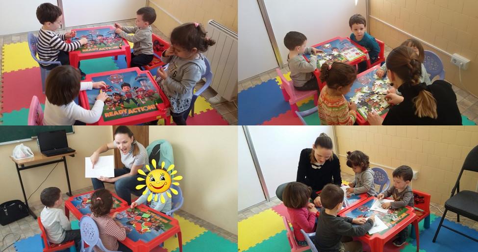 Inglés niños 2 años Bellvitge