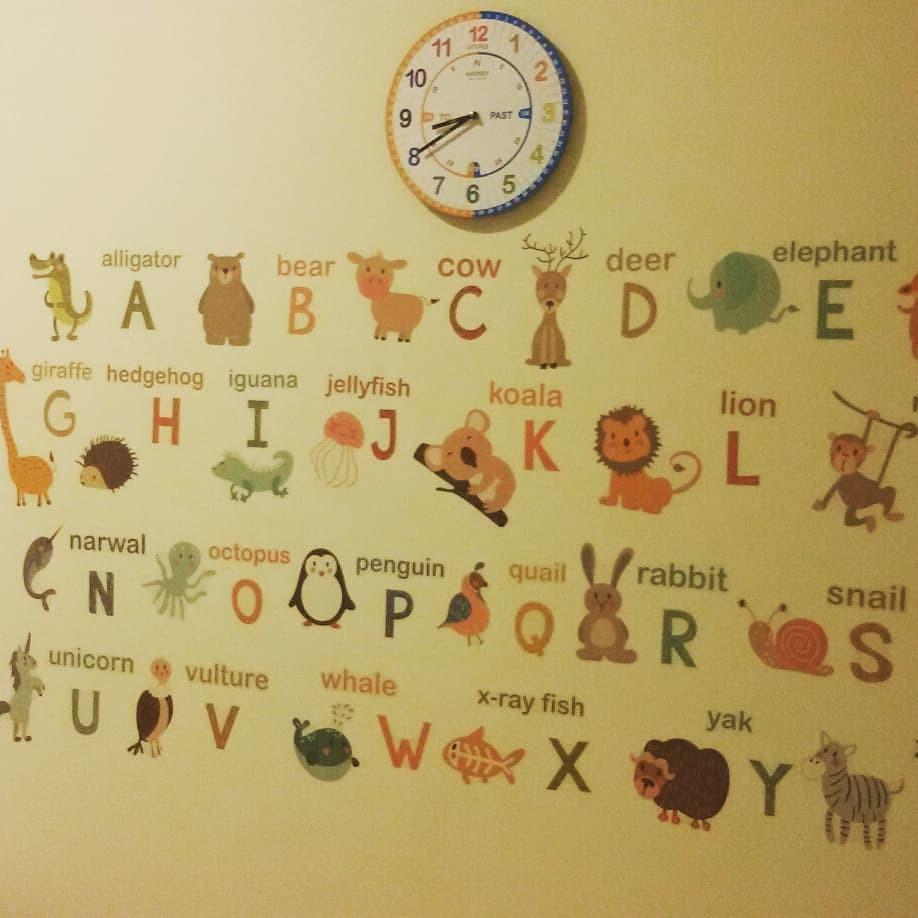 Nueva aula niños inglés preescolar