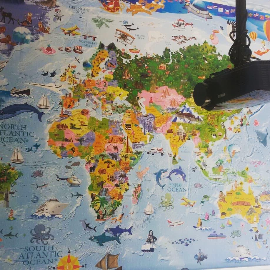 Nueva aula niños 2 años inglés