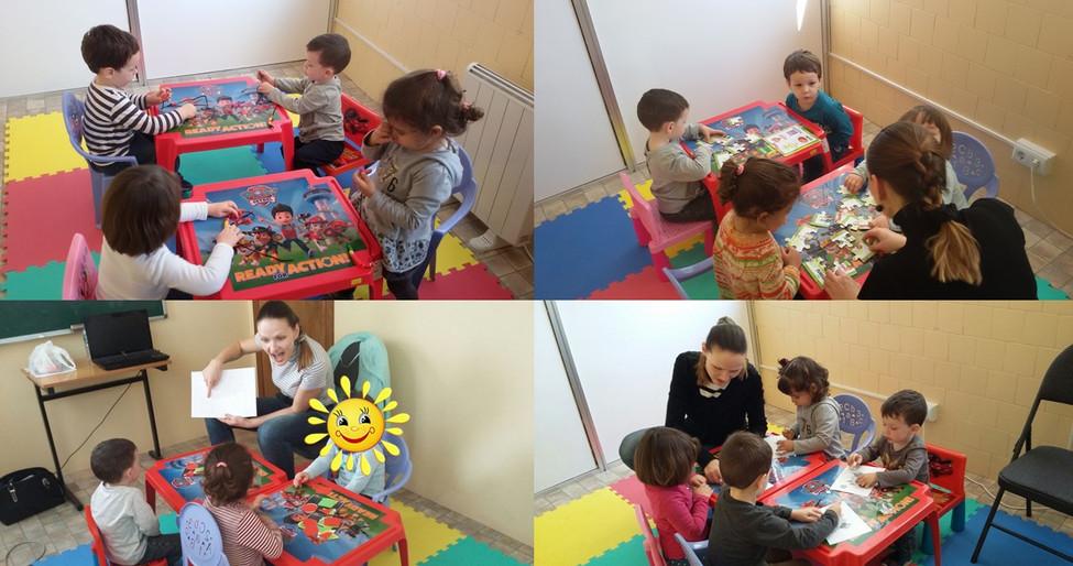 Curso inglés niños 3 años