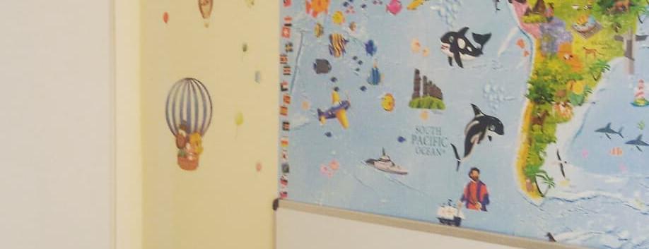 Nueva aula niños 3 años inglés